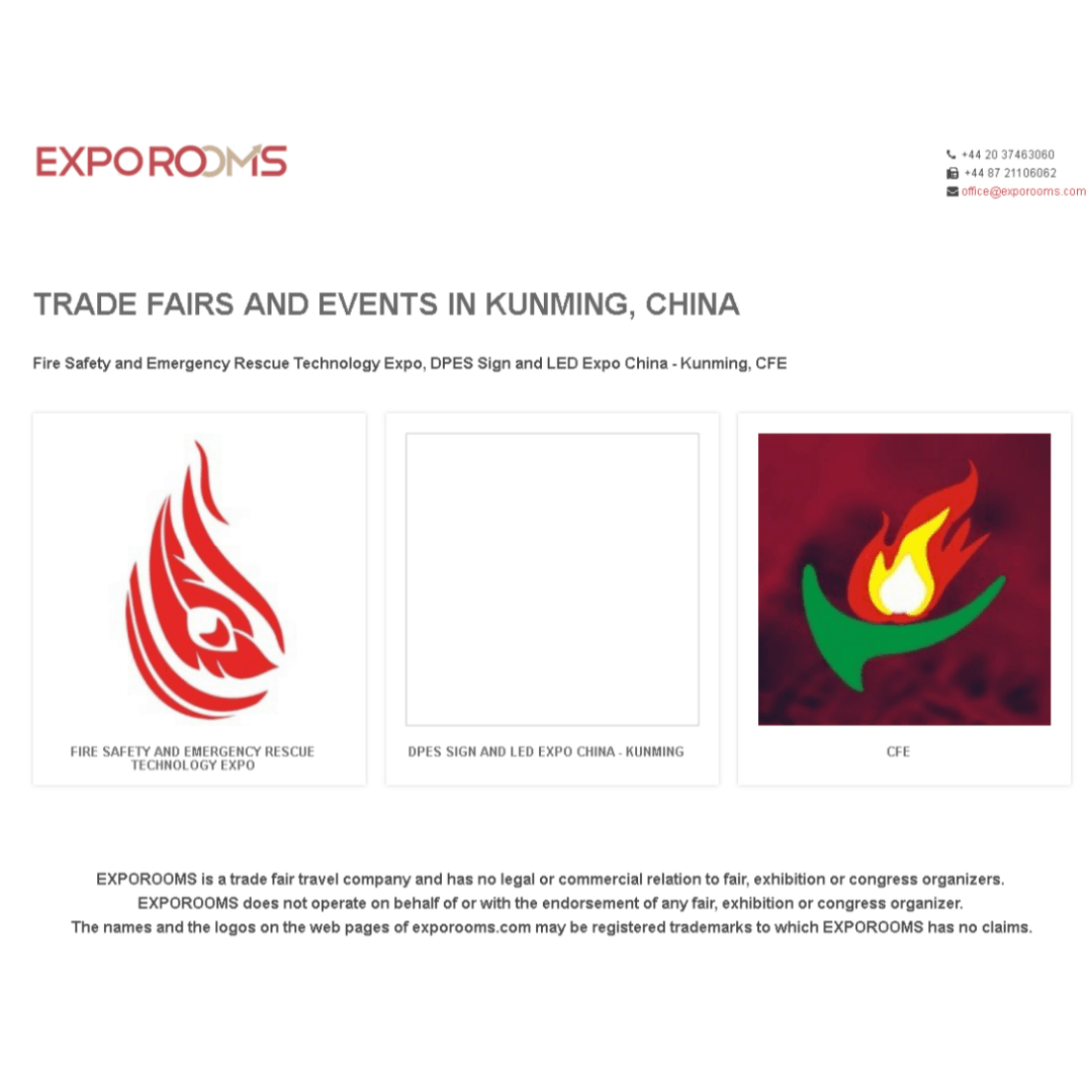 Trade Fairs and Events in Kunming, China