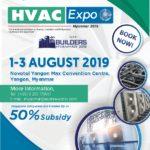 Brochure HVAC EXPO Myanmar 2019 pdf image
