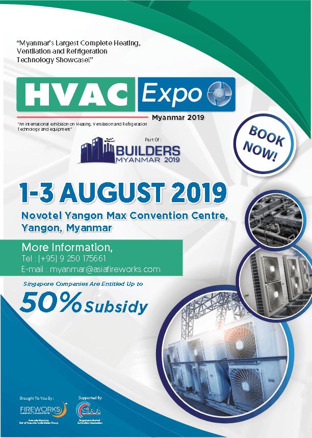 Brochure HVAC EXPO Myanmar 2019