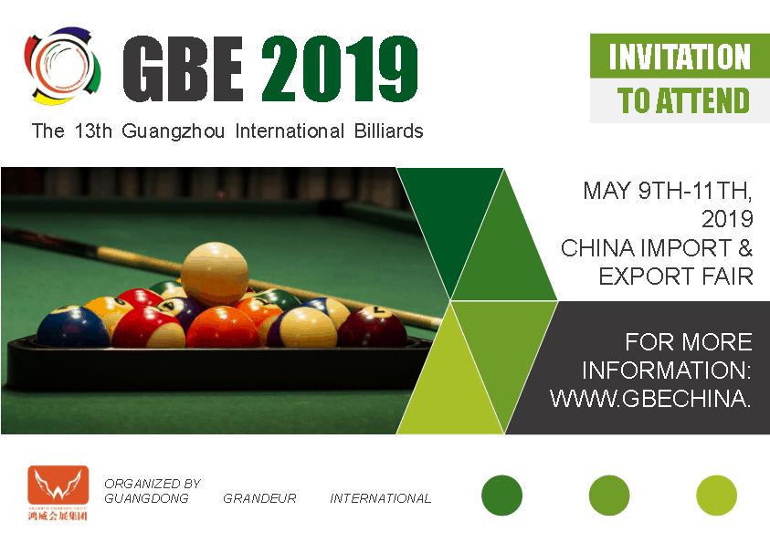 The 13th Guangzhou International Billiards