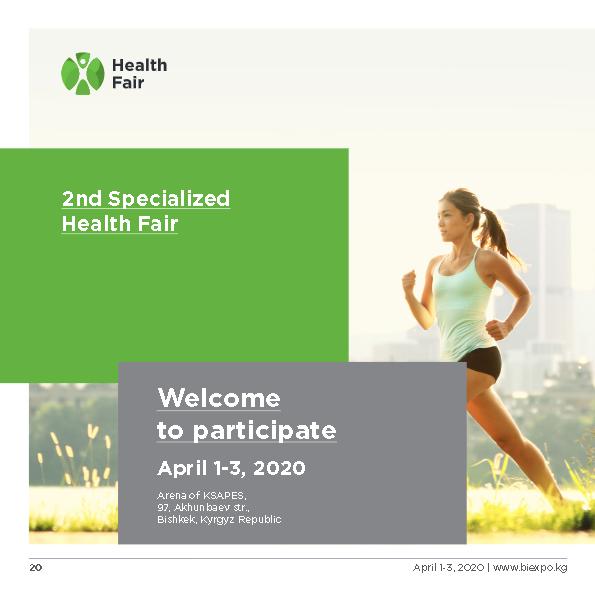 Invitation Health Fair 2020