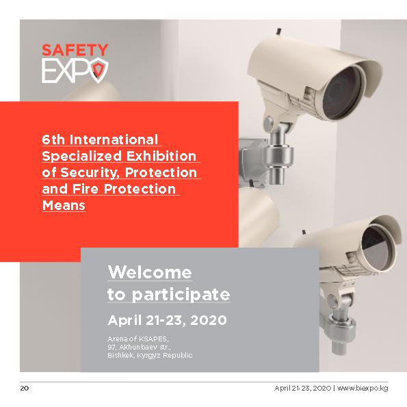 Invitation SafetyExpo Kyrgyzstan 2020