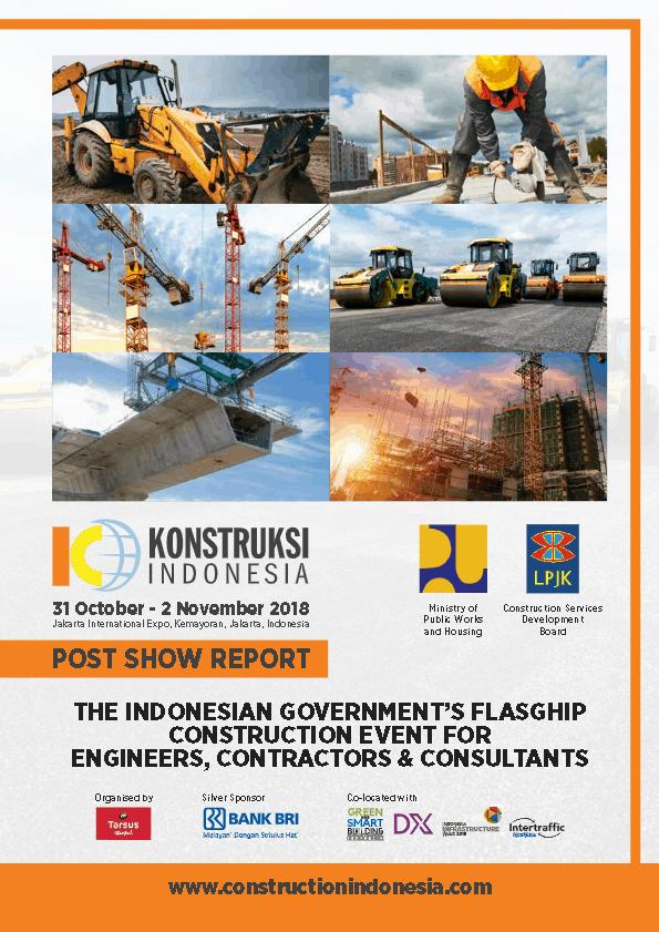 Konstruksi Indonesia 2018 Post Show Report