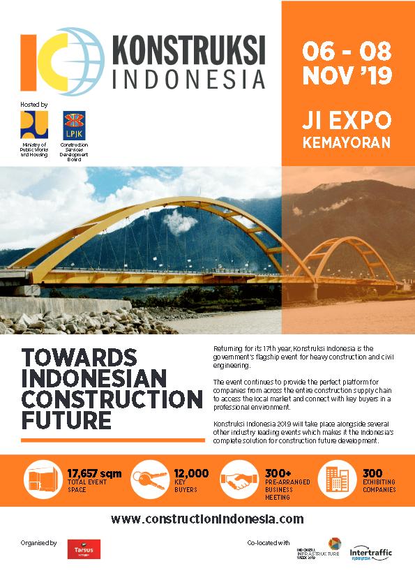 Konstruksi Indonesia 2019 Brochure