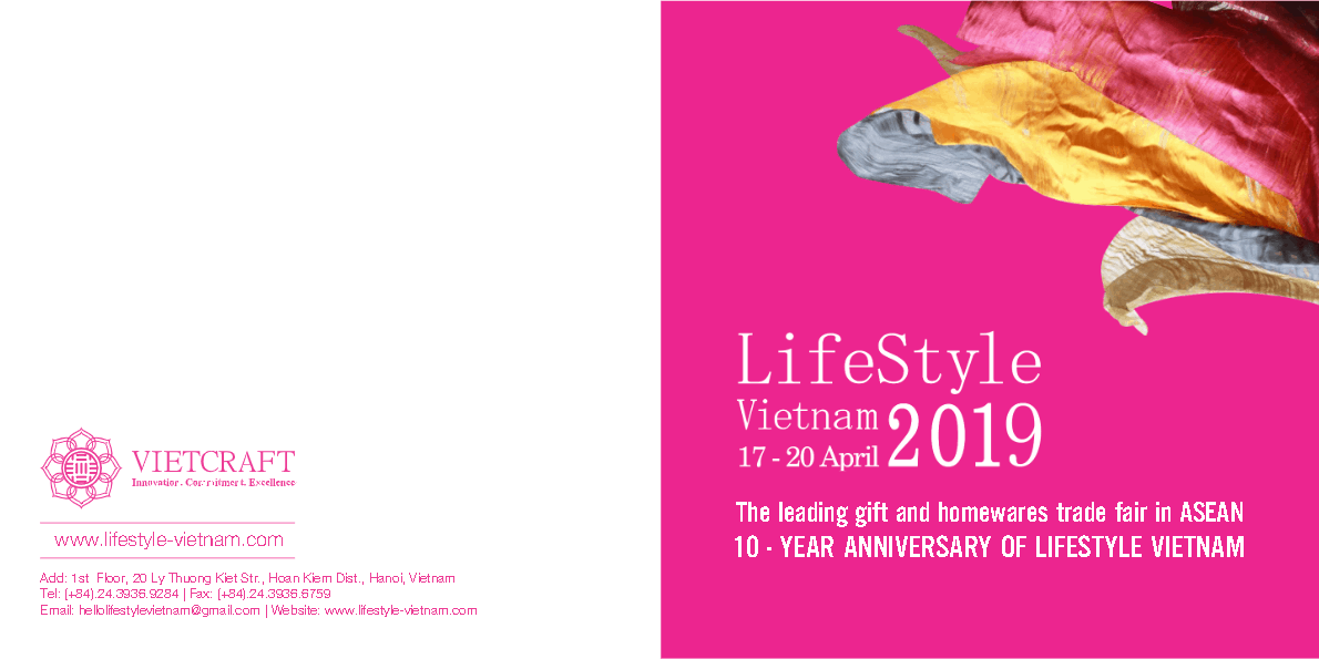 Lifestyle Trade Fair Vietnam Brochure