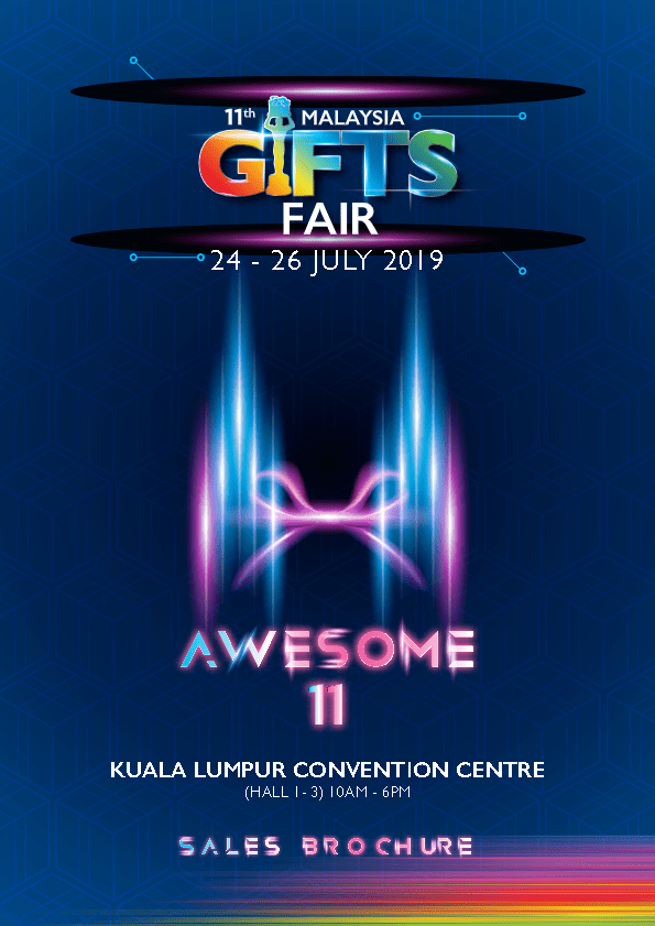 Sales Brochure Malaysia Gifts Fair