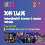 2019 Thailand (Bangkok) Amusement & Attractionparks Expo(TAAPE2019)