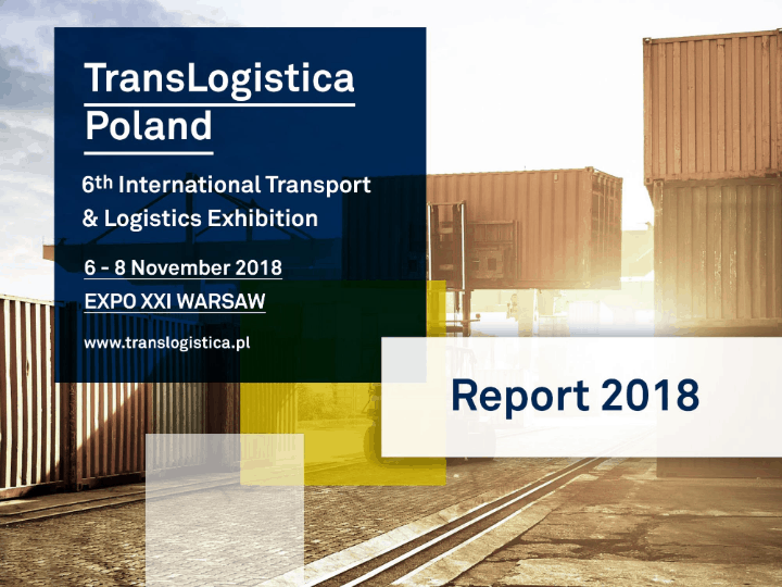 Translogistica Poland Post Show Report 2018